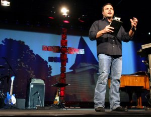 Pastor Mark Driscoll of Mars Hill Church in Seattle